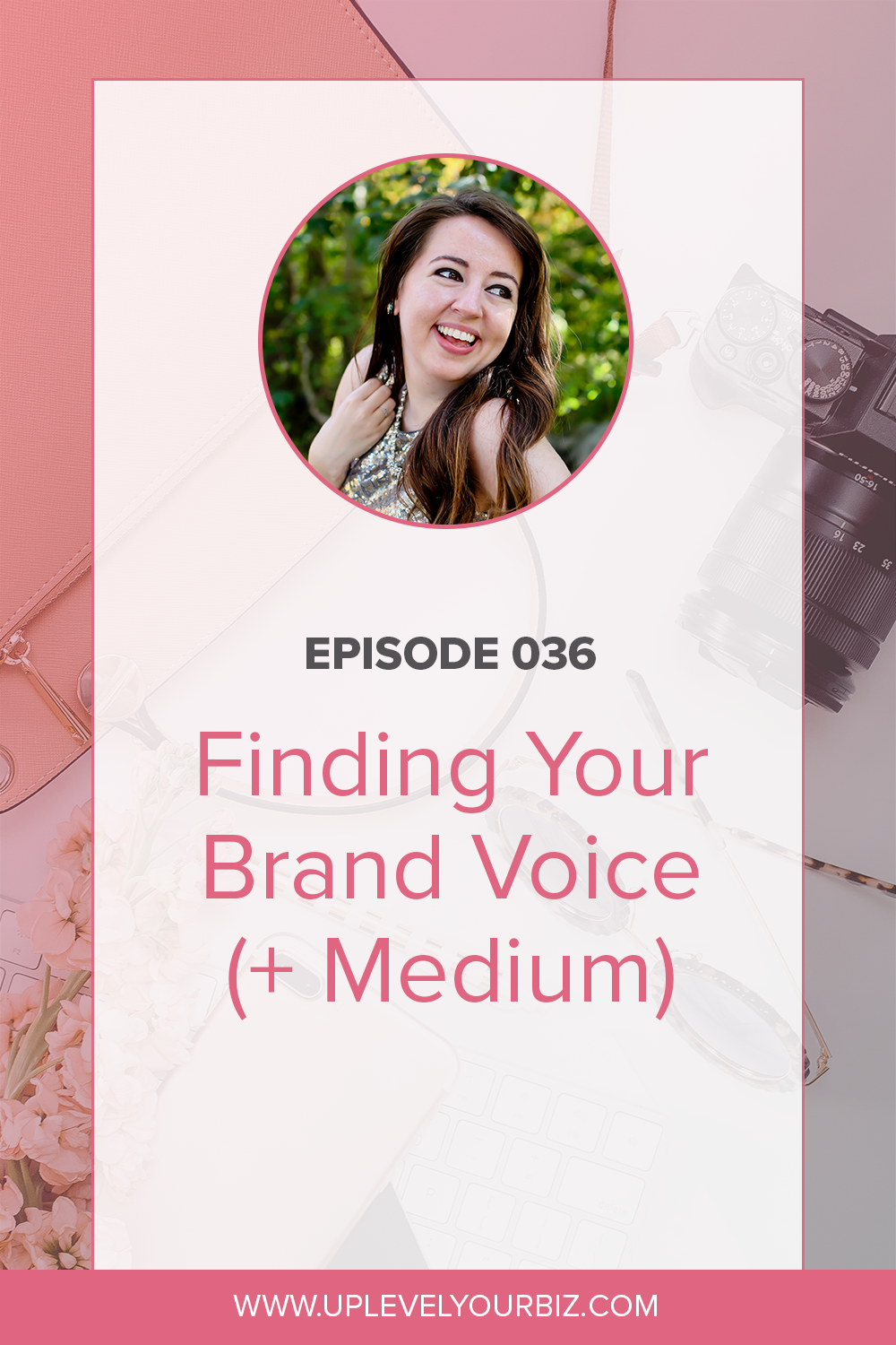 In today's episode, we are chatting with Liz Theresa all about finding your brand voice and your medium. And why copy and design are so integrated.
