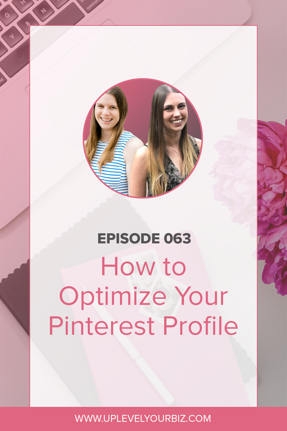In today's episode, we are chatting about how to optimize your Pinterest profile for success.